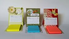 Package of 10 Mini Tear-off Calendars for Card Making, Crafts & Scrapbooking