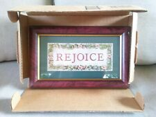 Homco Home Interiors Picture Artist Charles F Humphrey Titled Rejoice Floral