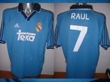 Real Madrid RAUL Shirt Adidas Adult XL Jersey Football Soccer Spain Maglia TEKA