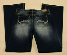 e0ea13b068639 Women s Ladies Junior s  REIGN  Blue Jeans Denim Size 9 Stretchy Dark Wash  EUC