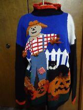 Vintage Spice of Life Halloween Mock turtleneck Sweater, women's M