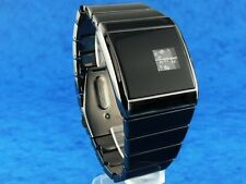 70s 1970s rétro vintage rotolog style led lcd digital era watch jump hour b