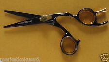 """6.5"""" Professional Barber Hair Cutting Hairdressing Scissors Titanium Black Color"""