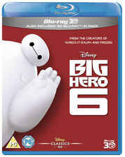 Big Hero 6 3d and 2d Blu-ray Region B