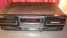 Kenwood KX-W6060 Stereo Double Cassette Deck CCRS Dolby B-C NR HX Pro