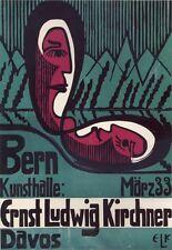 PLAKAT Bern Kunsthalle: Ernst-Ludwig Kirchner Expressionismus Brücke 227