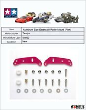 Mini 4wd ALUMINUM SIDE EXTENSION ROLLER MOUNT (PINK) Tamiya 94663 New Nuovo
