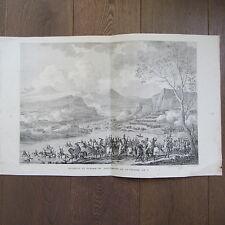 GRAVURE 1850 PAR VERNET NAPOLÉON 1797 PASSAGE DU TAGLIAMENTO