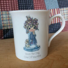 Precious Moments Mug Cup Scales Enesco 1985 Cute You The Only One of Your Kind