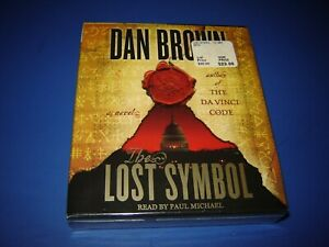 DAN BROWN THE LOST SYMBOL AUDIO BOOK/NOVEL (2009, CD, ABRIDGED), NEW, SEALED