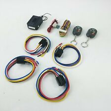 Street Rod Remote Control keyless entry system + Harness shaved door handle kit