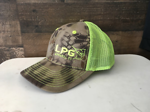 LPG Apparel Kryptek Neon Green Trucker Hat