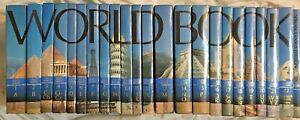 World Book Encyclopedia 2002 Set 23 Volumes Includes Reference & Census GOOD -1