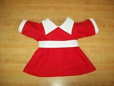 "15-16"" CPK Cabbage Patch Kids ANNIE MOVIE RED DRESS+BELT ONLY AILEEN QUINN DRESS"