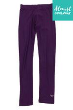 Armani Junior Leggings Size 16Y / 175Cm Elasticated Waist Rhinestoned Logo