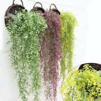 Artificial Hanging Ivy Garland Plants Vine Fake Foliage Flower wisteria Home AU