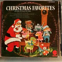 Fred Kirby - Christmas Favorites - vintage vinyl LP album 1960 - Organ & Chimes
