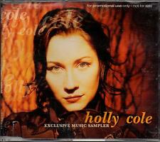 HOLLY COLE EXCLUSIVE MUSIC  SAMPLER PROMO