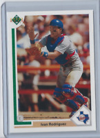 1991 Upper Deck Final Edition #55F Ivan Rodriguez RC - HOF Rangers - Rookie Card