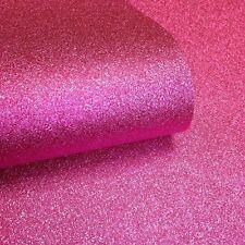 Muriva Textured Sparkle Hot Pink Glitter Modern Feature Wallpaper 701356