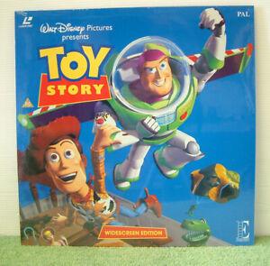 Toy Story (1995) PAL Laser Disc, Animation, Walt Disney Tom Hanks [EE1183]
