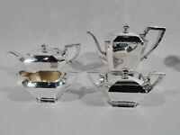 Gorham Fairfax Coffee & Tea Set - 04 - Art Deco - American Sterling Silver