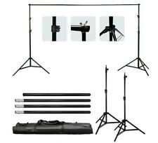 LimoStudio AGG1112 Adjustable Muslin Background Backdrop Support System Stand