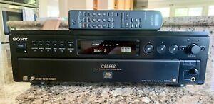 Sony SCD-C555ES Super Audio CD player 5 Disc Multi SACD/CD Changer w/ Remote