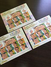 1998 Malaysia Commonwealth Gold Medalists Sheetlet MNH Fresh Stamps X 3 Sheetlet