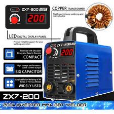 ZX7-200 220V DC Portable MMA ARC Welder Mini Inverter Electric Welding Kit