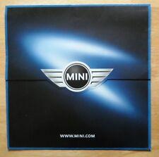 MINI Cooper orig 2000 UK Mkt large format sales brochure poster- BMW interest