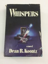 Whispers - Dean Koontz (1980, Hardcover, Dust Jacket)