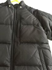 Old Navy Kids Filled Black Puffer Jacket Coat With Hood Size 16 (Youth: XL W: S)
