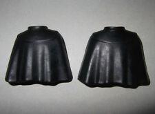 19502 Capa corta negra 2u playmobil,layer,cloak,teutón,mosquetero,musketeer