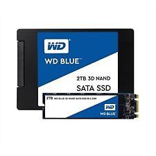Western Digital SSD WDS100T2B0A 1TB SATA III 6Gb/s 2.5inch 7mm Blue 3D NAND