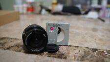 Sony SEL 16-50mm f/3.5-5.6 OSS SELP1650 Lens w/ ND Filter and Lens Cap