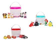 Disney Store Deluxe Bath Toys Tub Bathtime Toy Playset Ariel Cars Minnie