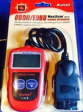MS310 OBDII OBD2 EOBD CAN BUS Code Reader Engine Fault Diagnostic Scanner Tool