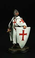 Tin soldier, Collectible, Knight Templar , 54 mm, Medieval