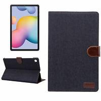 Cubierta Para Samsung Galaxy Tab S6 Lite SM-P610 P615 Funda Protectora de Pie