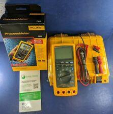 New Fluke 789 Processmeter, Original Box, Hard Case, More, See Details