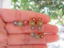 .30 Carat Diamond Yellow Gold Earrings, Ring & Pendant Set 14k sepvergara
