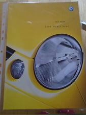 VW Lupo GAMA FOLLETO 2003 Modelo año pub Mayo de 2002