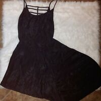 Umgee Caged Back Pocket Maxi Dress Lightweight Size Small