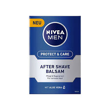 100ml Nivea Men Protect & Care after Shave Balm Maintains with Aloe Vera