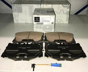 Mercedes OEM Front Brake Pads Set With Sensor 2018 to 2020 E400 E450 Sedan W213