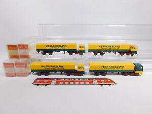 CS949-0,5 #4x wiking H0 / 1:87 530 Lorry Ford West-Friesland Spedition Top + Box