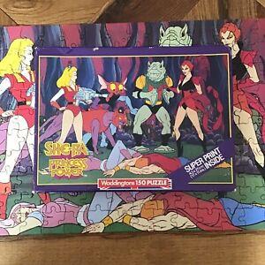 She-Ra Princess Of Power Vintage 150 Pieces Puzzle Complete 1985 Waddingtons