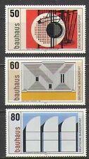 Germany 1983 Modern/Contemporary Art/Bauhaus/Painting/Buildings 3v set (n21877)