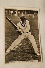 DON BRADMAN - Vintage - 1935 - Scarce - Ardath Cricket Card by Pattreiouex Ltd.